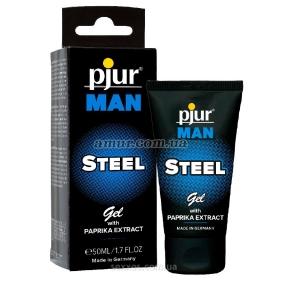 Стимулирующий гель для пениса pjur MAN Steel Gel, 50 мл