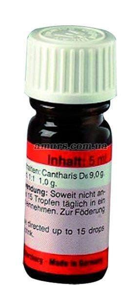 Возбуждающие капли «Cantharis» 5 мл