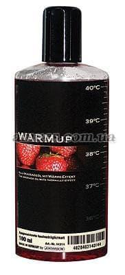 Массажное масло «WARMup» клубничка 150 мл