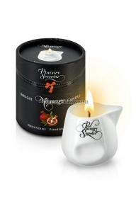 Массажная свеча Plaisirs Secrets Pomegranate, гранат, 80 мл