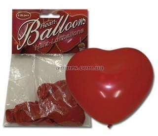 Надувные шары в виде сердца «Herzluftballon»