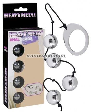 Анальные шарики «Heavy Metal»