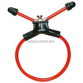 Эрекционное уздечко-кольцо «Red Sling»