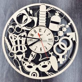 Настенные часы «Sex-Shop»
