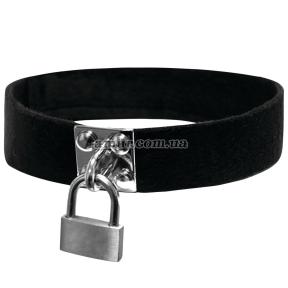 Чокер с замочком Sex And Mischief - Lock & Key Collar