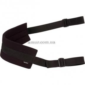 Ремень Sportsheets Doggie Style Strap Black для глубокого проникновения в позе doggy style