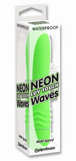 Вибратор «Neon Luv Touch Wave Green»
