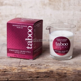Массажная свеча «Massage candle Taboo Caresses Ardentes»