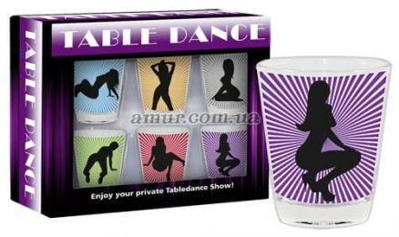 Набор рюмок «Table Dance»