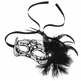 Маска «Mardi Gras Mask with Feathers»